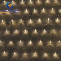 2m de largeur de lumière blanc chaud avec 8 filets de lumières LED-Mode