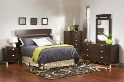 4 قطع أثاث خشبي للأطفال من غرفة النوم مجموعة فساتين