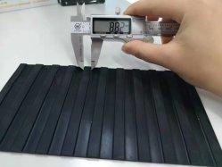 反広のスリップのゴム製製品の罰金の薄く狭い肋骨の研修会のための波形のゴム製床のマット