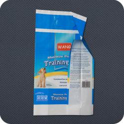 Bolsa de plástico desechables envases sanitarios para el cuidado personal