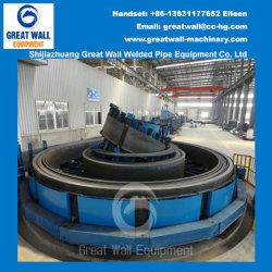 Horizontaler gewundener Druckspeicher für Streifen-Stahl