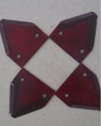 La Sección de cuchilla de acero utilizado cosechadora New Holland