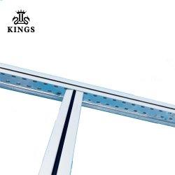 Falso techo de la barra de t para construcciones Interior Accesorios para paneles de techo