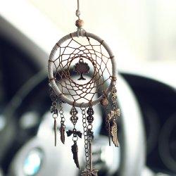 ميني دريم الماسك سيارة قلادة معلقة زينات الهندي دريم تسر الرياح ديكور منزلي مأمون هدية زينة التعليق الداخلي الآلي