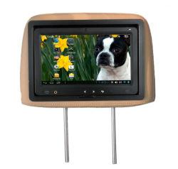 El apoyacabezas LCD de pantalla táctil de 9 pulgadas de pantalla del Monitor de publicidad