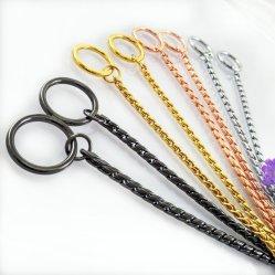 Pitbull inductor gigante Collar de cadena de oro de la serpiente de la cadena de perro el collar para perros