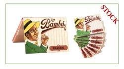 شعار مخصص غير مبيض/غير مكرر التدخين Bambu Rolling Papers خدمة OEM