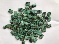 African Turquoise Rectangle 14x10 Cabochon POUR BIJOUX Pierres précieuses