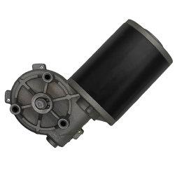 12V/24V 60rpm 30W DC Eléctrico Worm da engrenagem do motor para a Porta do Elevador/Motor de limpa-vidros