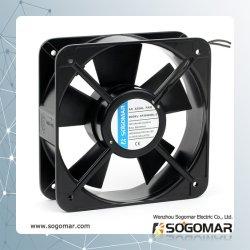 Ventilateur de ventilation 200x200x60mm avec pôle ombragé 67W du moteur de 2800tr/min