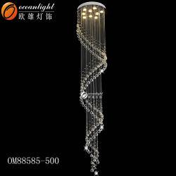 Pendente de iluminação de cristal lustre a Lâmpada de Teto luz LED residencial