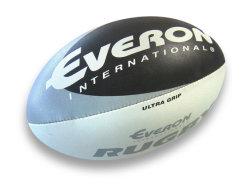 2020 Nuevo diseño de cuero OEM pelota de rugby