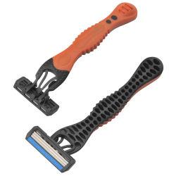 Männliches Geschlechts-Wegwerfschaufel, die Rasiermesser-dreifache Schaufeln rasiert