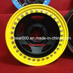 32 Boltsの15インチBead Lock Steel Wheel
