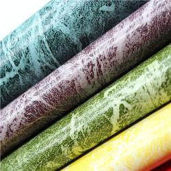 Venta caliente Piel suave como PU ARTIFICIAL cuero PVC para producciones de cuero original -Burkina