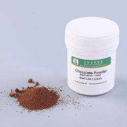 Polvere del cioccolato per l'alimento, la caramella e bere del forno