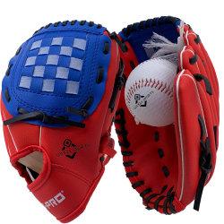 8 pulgadas de espuma de goma Set Béisbol Cuero Sintético de 10,5 pulgadas guante de béisbol