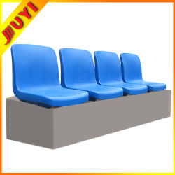 Blm-2711 플라스틱 의자 시트를 접히지 않는 최고 옥외 축구 경기장