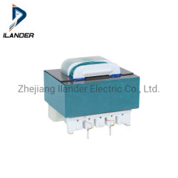 인쇄 회로 기판 조명용 고주파수 EI 핀 변압기 가정용 전기 기기 LED