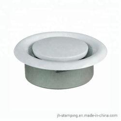 HVAC 금속 원형 공기 밸브 실내 배기 및 공급 루브르