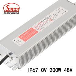 200W 48VCC 4.2A Le driver de LED étanche IP67 de l'unité d'alimentation