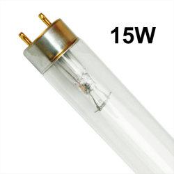 Lampada UV-C ultravioletta a doppia fronte del boro della fabbrica 15W T8 della Cina di disinfezione professionale dell'aria/sterilizzatore UV germicida di Lamp/UV