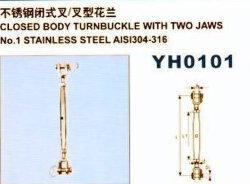 Yh0101 Cuerpo Cerrado tensor con dos mordazas
