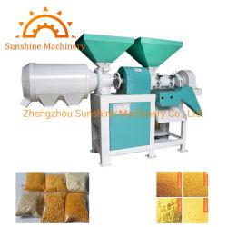 Unidad de motor diésel de maíz amarillo blanco Máquina de sémola de maíz dispensador