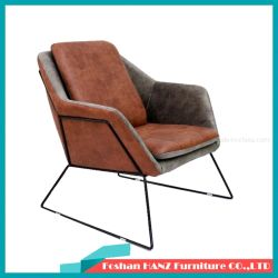 Presidenza del sofà resa personale arte di cuoio morbida industriale americana di stile del sofà del ferro di stile retro singola vecchia