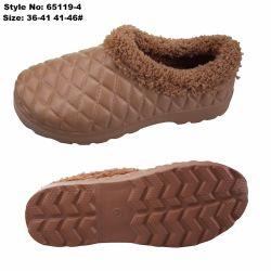 As mulheres Winter Lave entupir Piscina Home Senhoras sapatos de Inverno