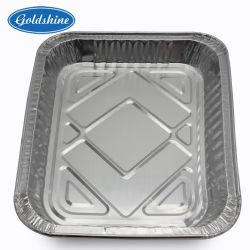 Conteneur d'aluminium à emporter à usage unique