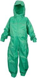 아이들은 Rainsuit를, 옥외 실행을%s 1개의 건조한 한 벌에서 전부 방수 처리한다. 소년과 소녀를 위한 이상적인 겉옷