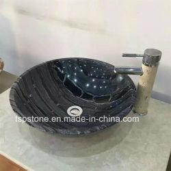 浴室のための自然な花こう岩または大理石の石造りの洗面器