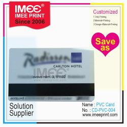 Оптовая торговля Imee шаблон печати цветной специализированные ПВХ пустым банка VIP Silver карты с магнитной полосой