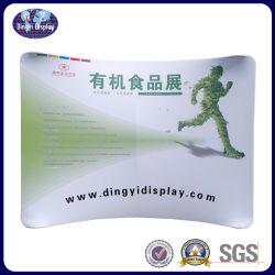Фото на фоне дисплей портативного всплывающее подставка для дисплея на размещение рекламы