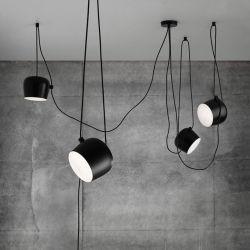 As fixações das luzes de pendente do tambor moderno restaurante interior e decoração de iluminação (WH-AP-43)