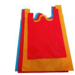 حقيبة تسوق رخيصة مصنوعة من الأقمشة الأنيقة غير المحبوكة معاد تدويرها