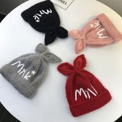 Tampa de moda personalizada Beanie Tricô Lã Hat