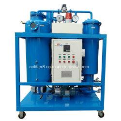 Utiliza la máquina de Filtración de Aceite de Turbina (TY-200).