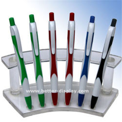 Caso di visualizzazione acrilico di plastica libero della penna