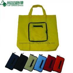Нейлон полиэстер сумку для складывания на молнии