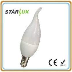 Светодиодные лампы C37 светодиодная свеча хвостатых лампа 3 Вт E14 3000K/4100K/6500K