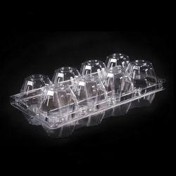 Китай OEM-складывание перепелиные яйца коробок для продажи в блистерной упаковке 12 Pack введите 30 упаковка ПЭТ/ПВХ пластиковый лоток для яиц, одноразовые