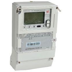 Tester a tre fasi di ora di chilowatt del segnale dell'elemento portante di controllo locale della tassa