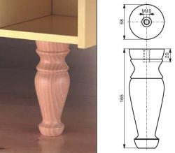 Het houten Been van de Lijst in Uitstekende kwaliteit maakte Mijn Professionele Fabrikant van Houten Producten met de Leverancier van 10 Jaar OEM/ODM