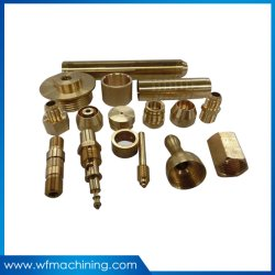 Precisie CNC die de Delen van het Aluminium/van het Staal/van de Kuiper/van het Messing machinaal bewerken