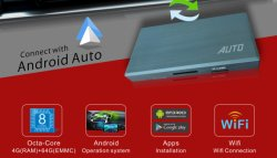 L'usine d'alimentation Diretly Android case Auto Carplay Carlife Compatibel pour soutenir l'original du panneau de voiture