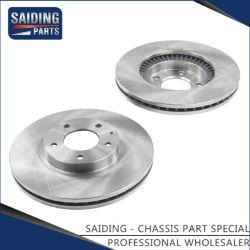 Автомобильный диск тормоза ротора для Mazda ОДНООБЪЕМНОЙ МОДИФИКАЦИИ автомобильных деталей L12y-33-25х