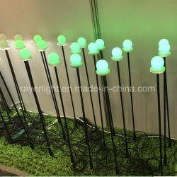 Décoration de plein air lumière projetée Boule LED témoin des feux de stationnement