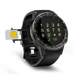 GPSのカメラサポートストップウォッチのBluetooth Smartwatch SIMのカードの腕時計が付いているスポーツのスマートな腕時計Smartwear